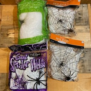 5/$15 Halloween Fake Spider Wens Lot of 4 NWT